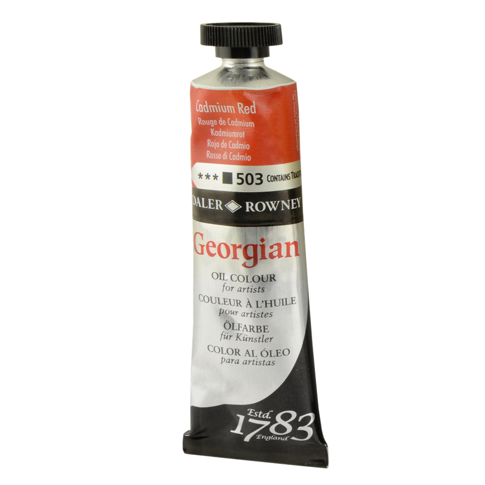 Georgian Oil 225Ml Cadmium Red Hue
