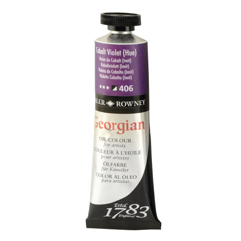 Georgian Oil 38Ml Cobalt Violet Hue