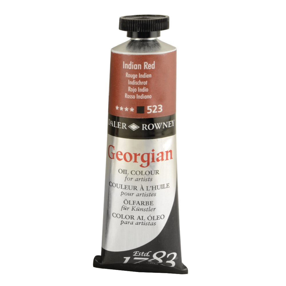 Georgian Oil 38Ml Indian Red
