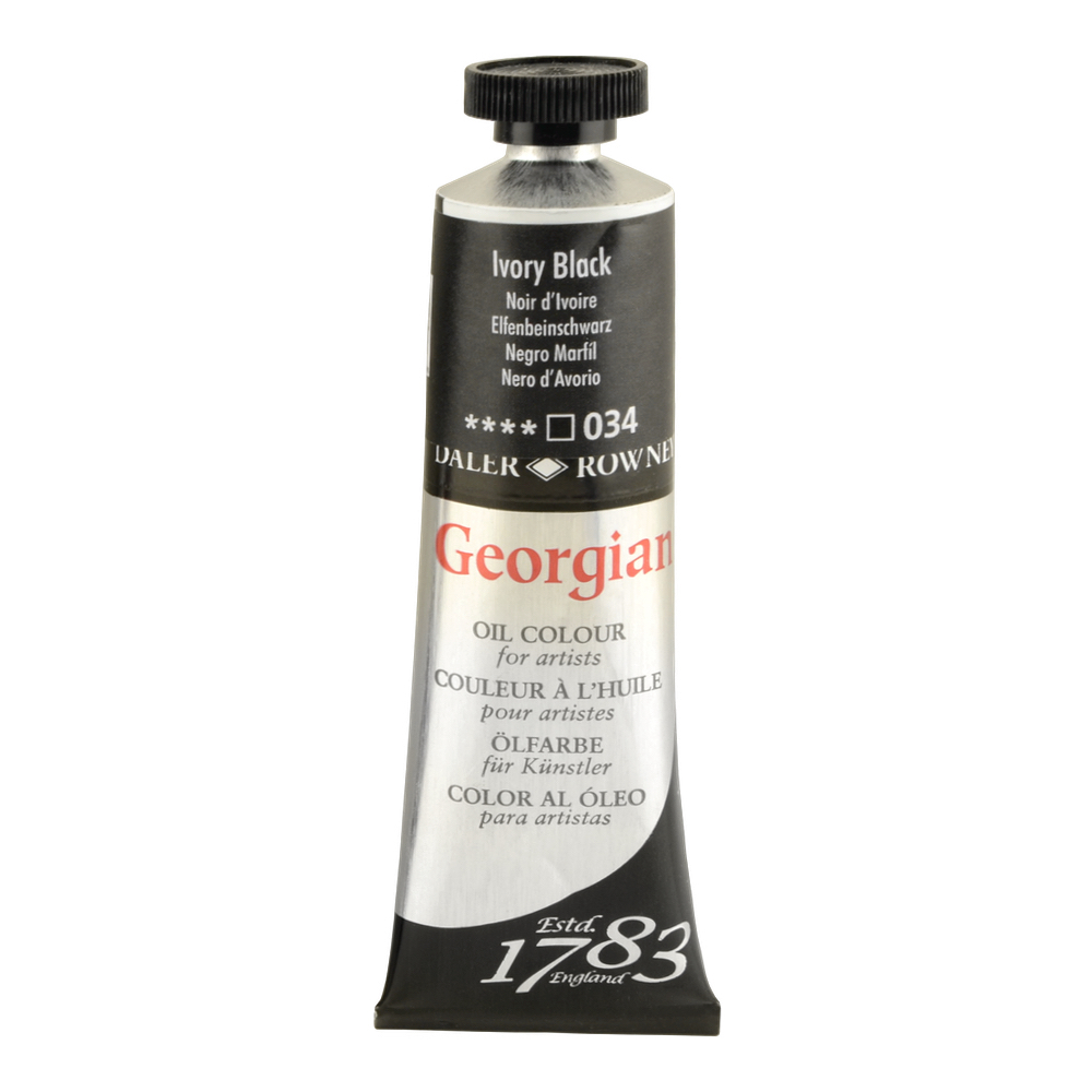 Georgian Oil 225Ml Ivory Black