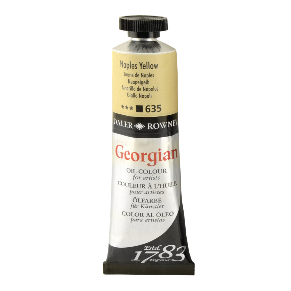 Georgian Oil 38Ml Naples Yellow