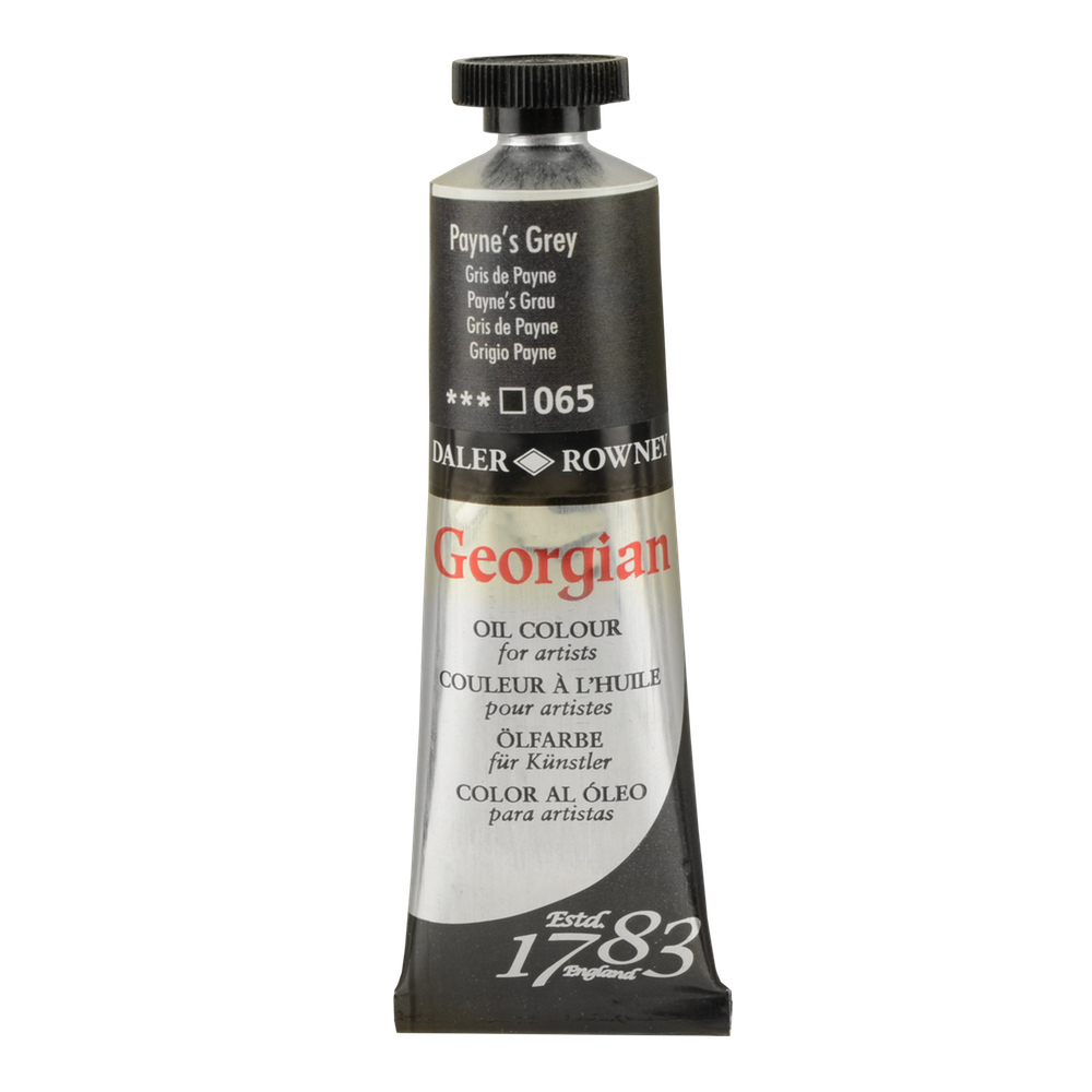 Georgian Oil 38Ml Paynes Grey