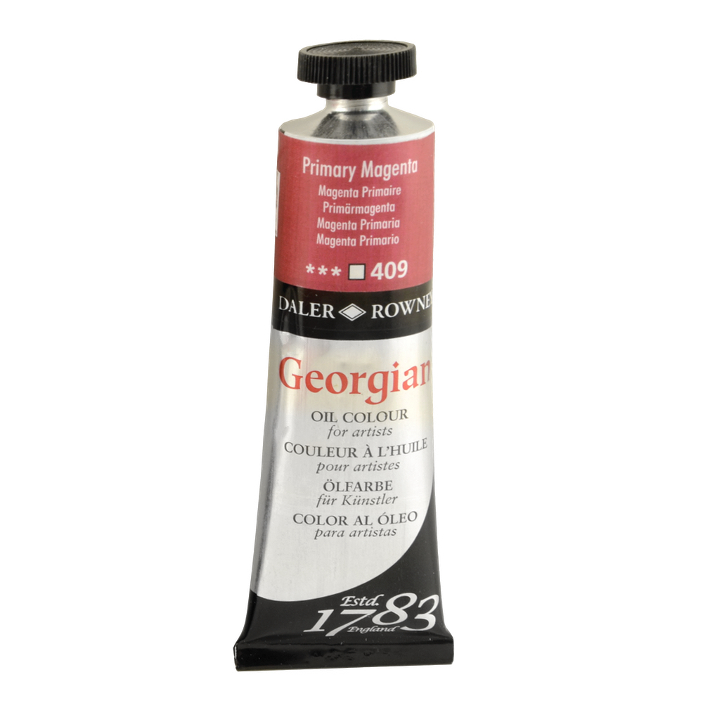 Georgian Oil 38Ml Permanent Magenta