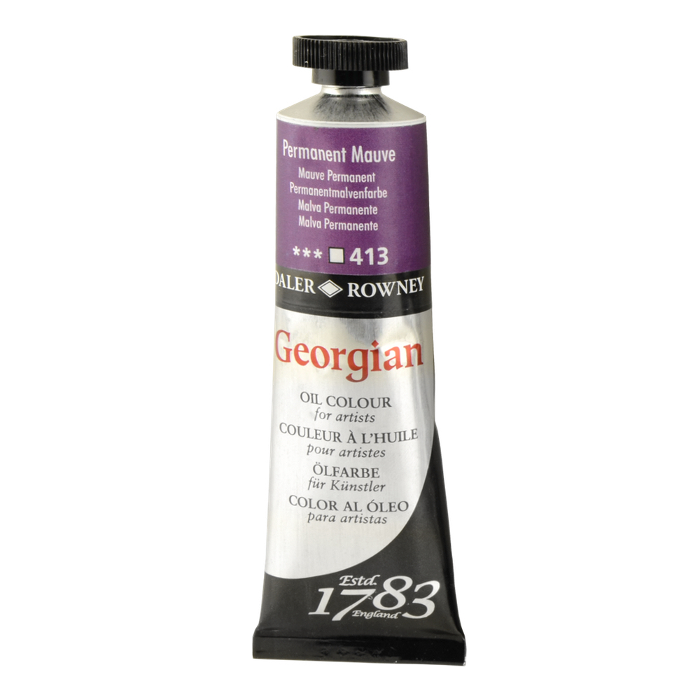 Georgian Oil 38Ml Permanent Mauve