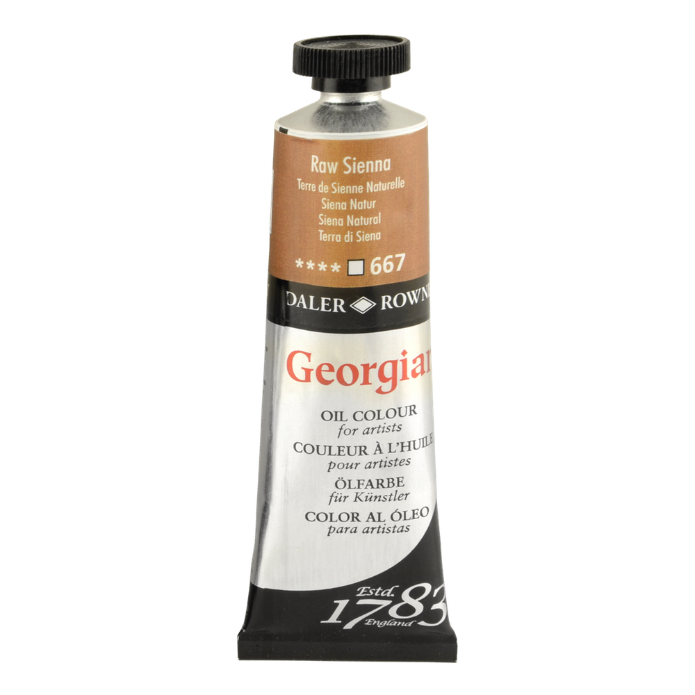 Georgian Oil 38Ml Raw Sienna