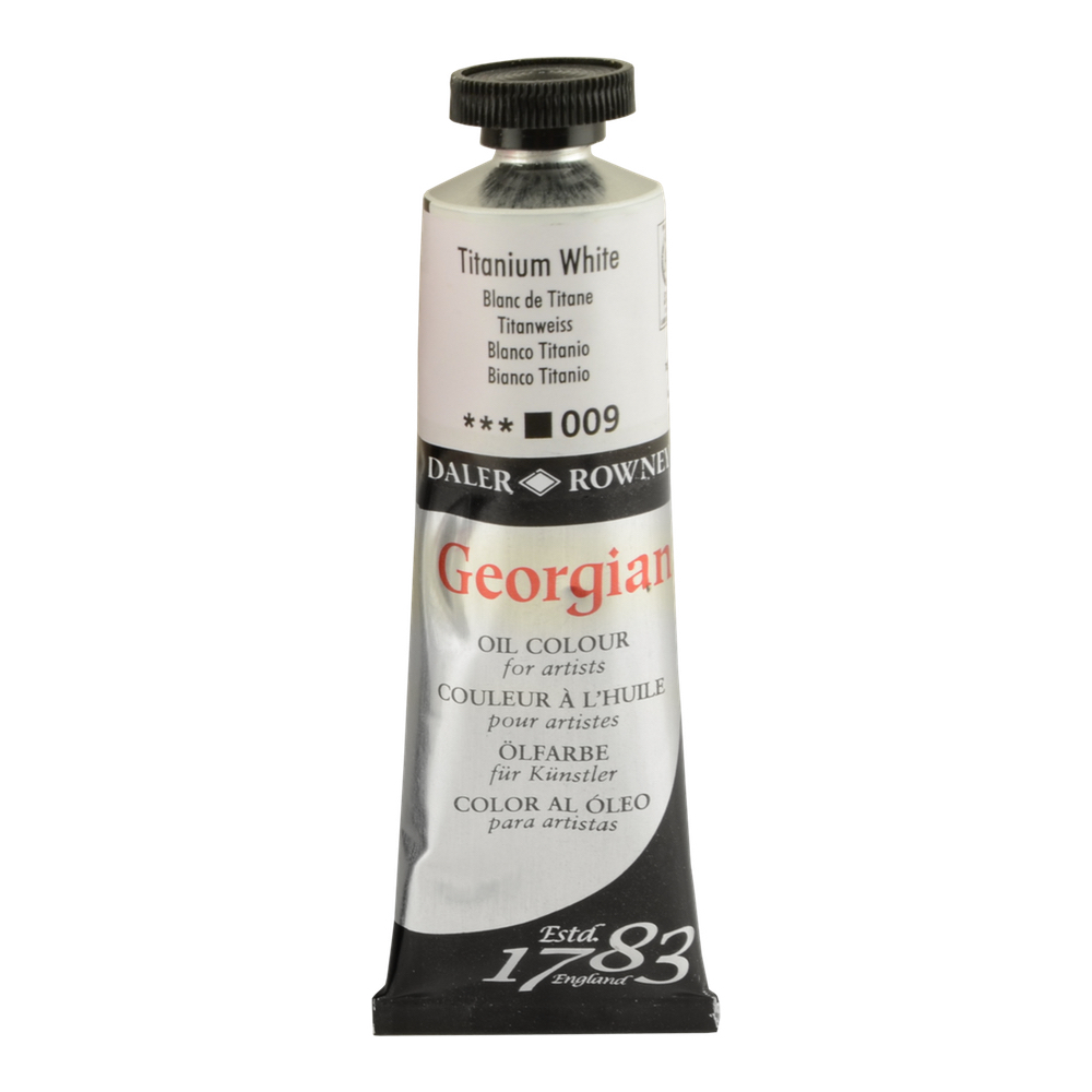 Georgian Oil 38Ml Titanium White