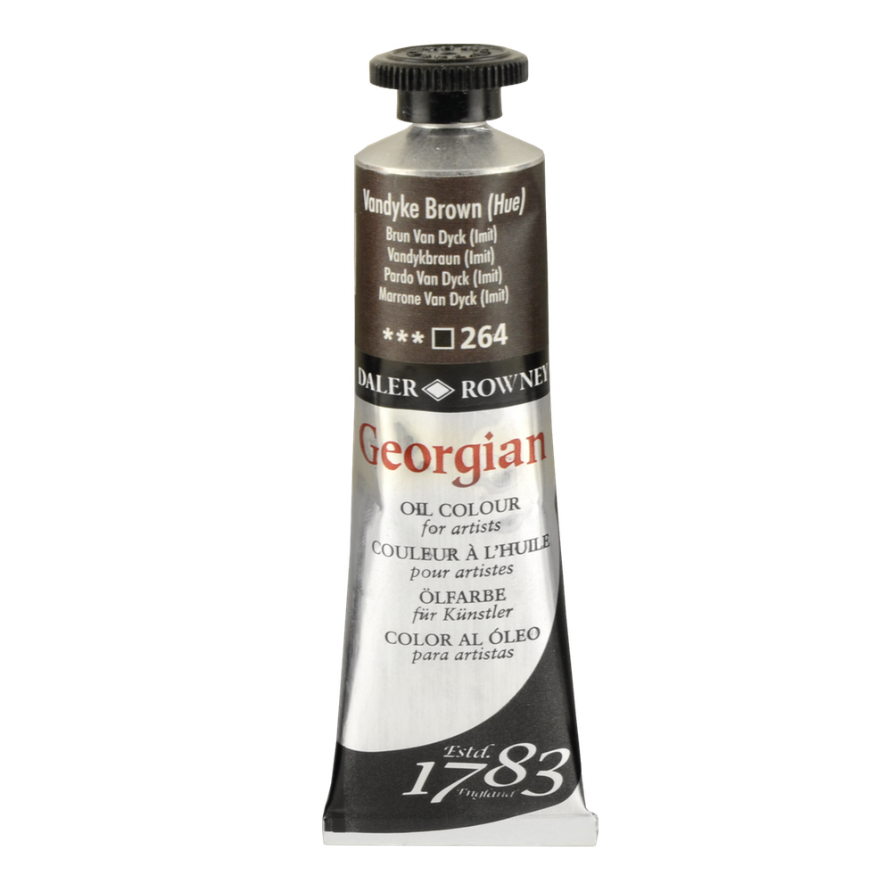 Georgian Oil 38Ml Vandyke Brown Hue