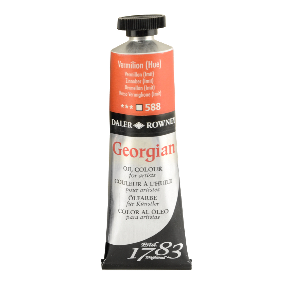 Georgian Oil 38Ml Vermilion Hue