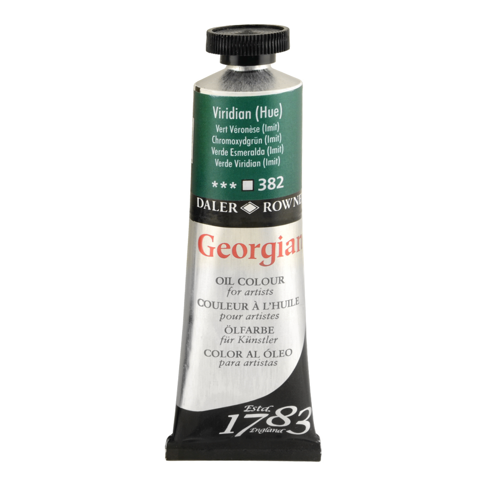 Georgian Oil 38Ml Viridian Hue