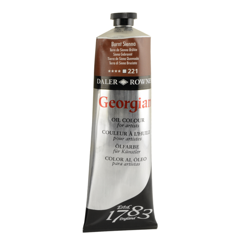 Georgian Oil 225Ml Burnt Sienna