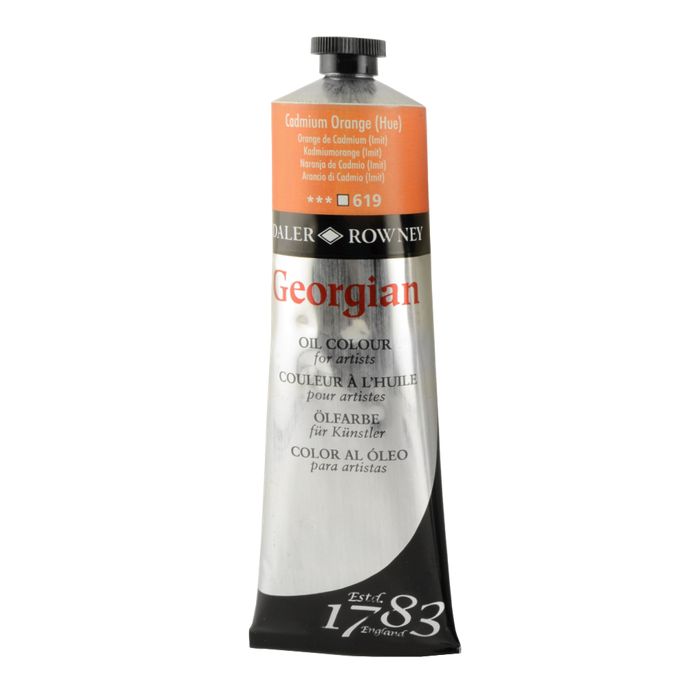 Georgian Oil 225Ml Cadmium Orange Hue