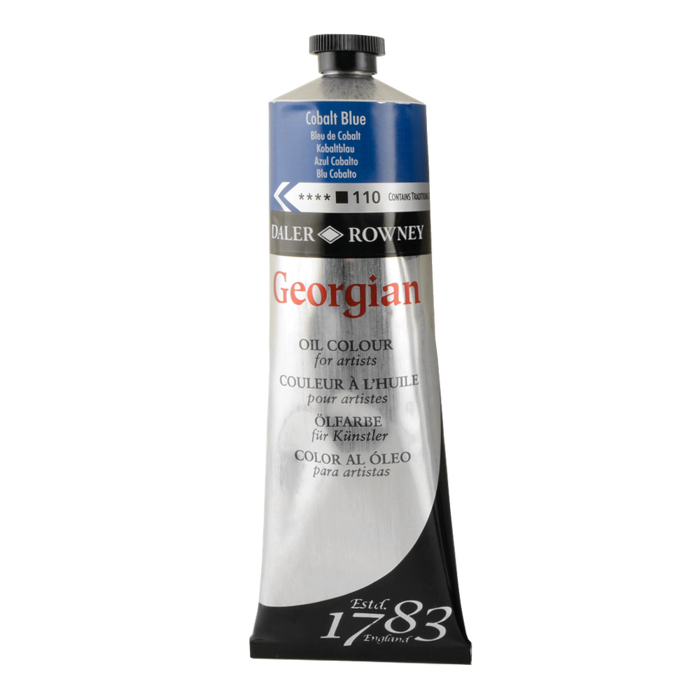 Georgian Oil 225Ml Cobalt Blue