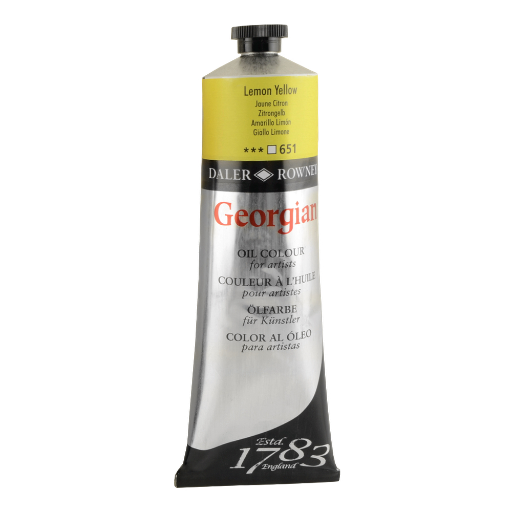 Georgian Oil 225Ml Lemon Yellow