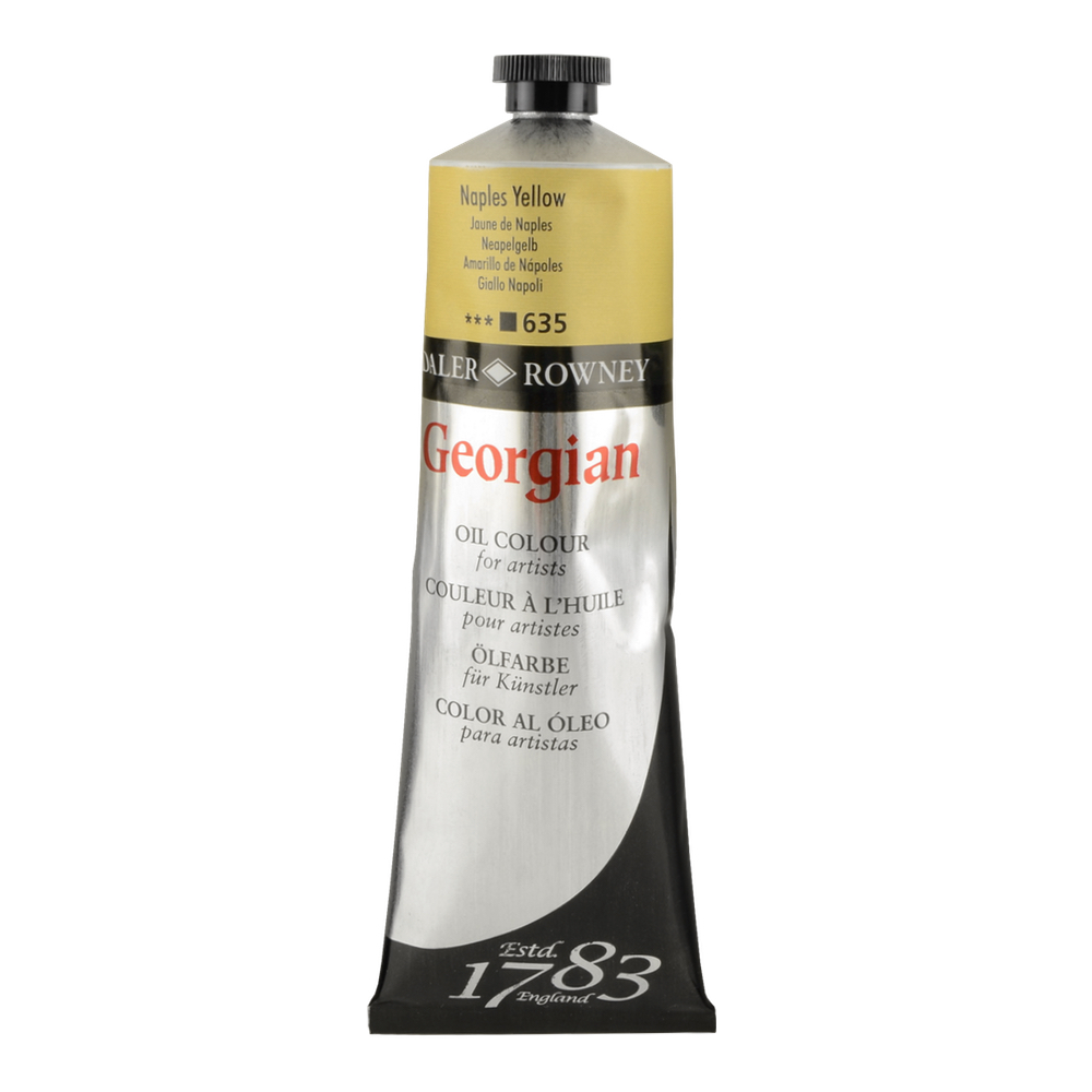 Georgian Oil 225Ml Naples Yellow