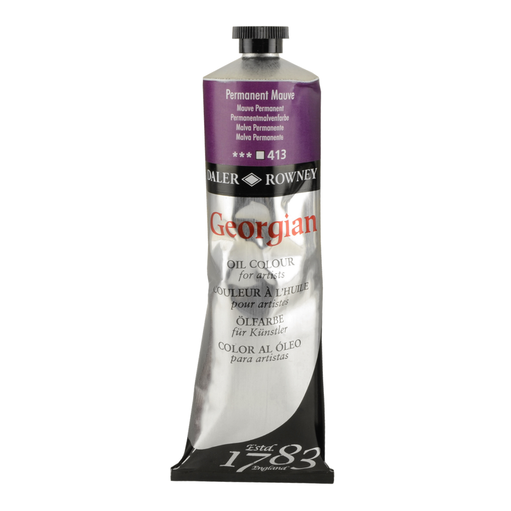 Georgian Oil 225Ml Permanent Mauve