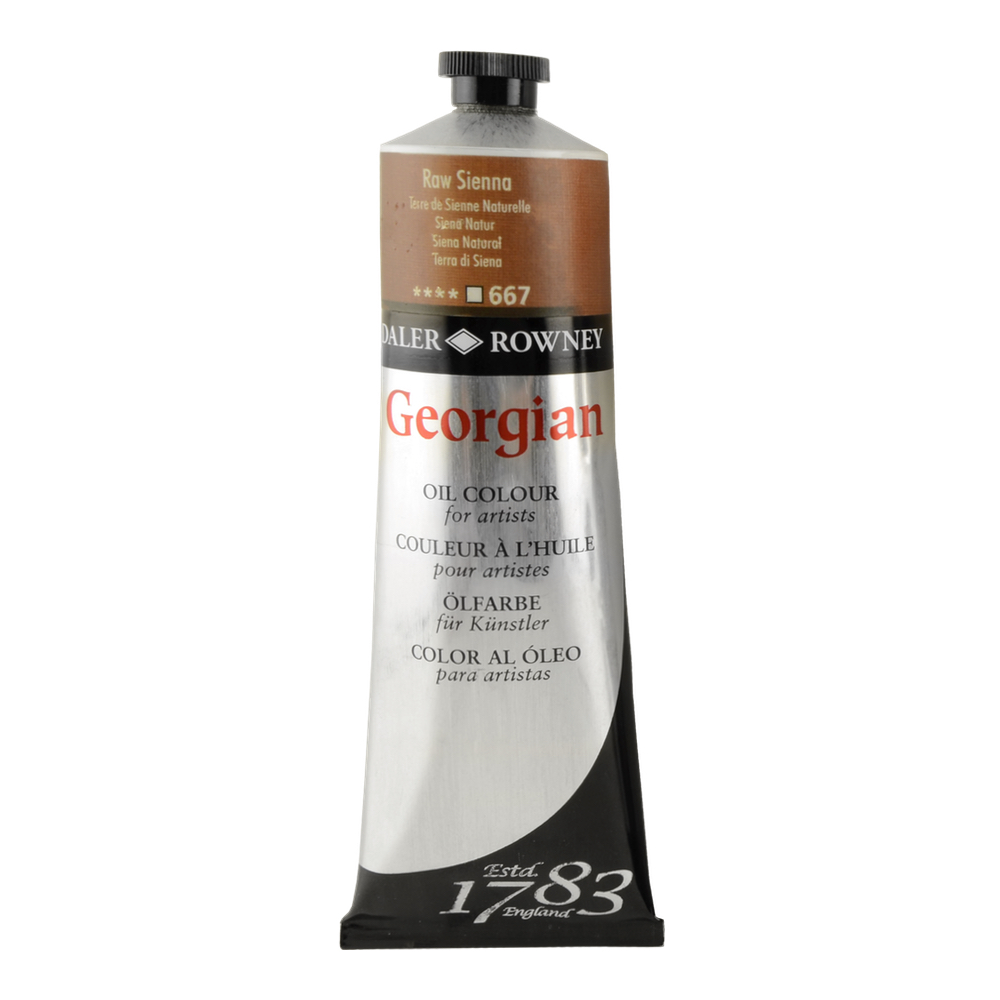 Georgian Oil 225Ml Raw Sienna