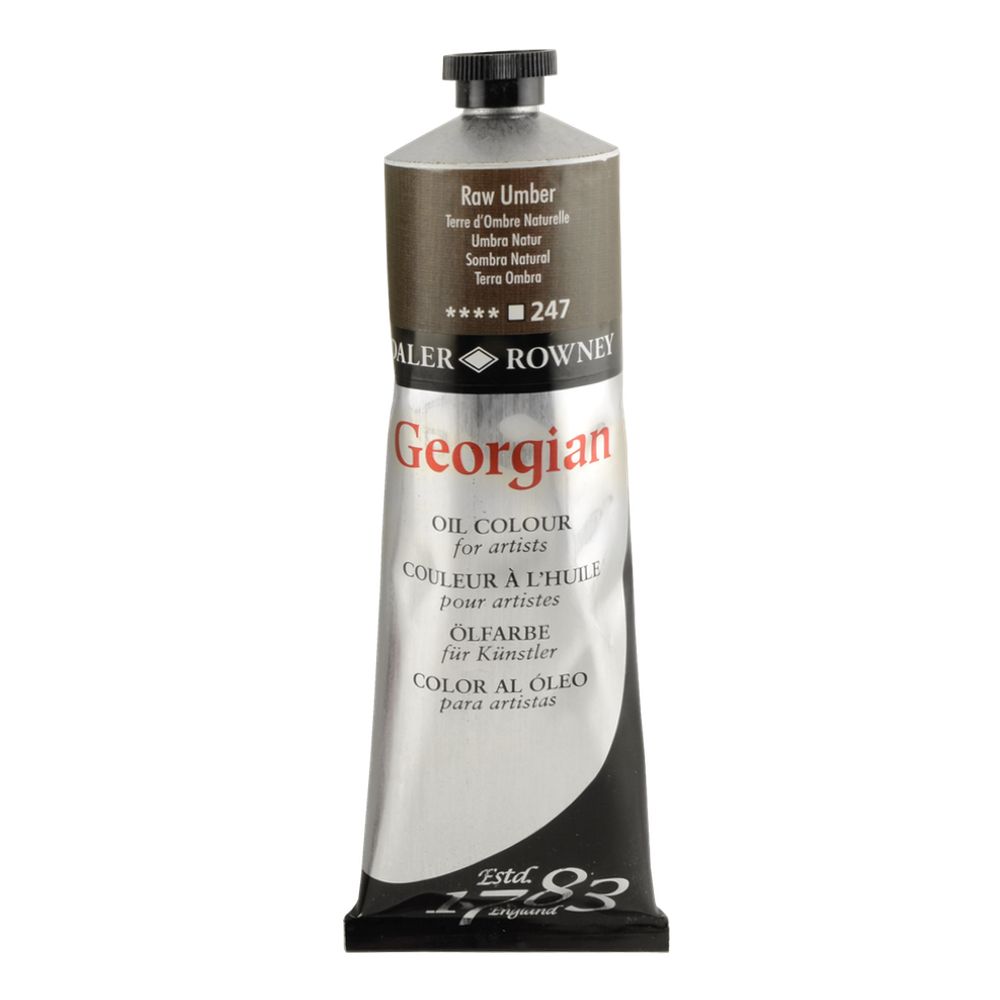 Georgian Oil 225Ml Raw Umber