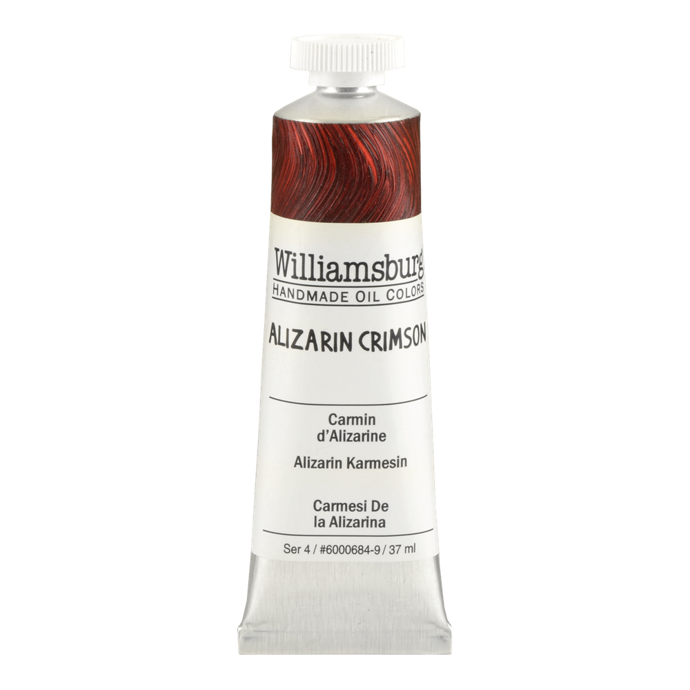 Williamsburg Oil 37Ml Alizarin Crimson