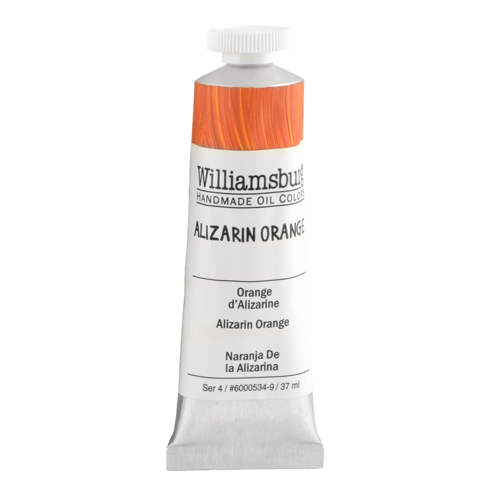 Williamsburg Oil 37Ml Alizarin Orange