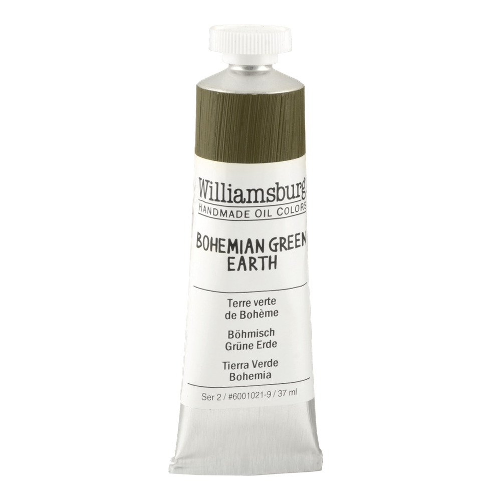 Williamsburg Oil 37Ml Bohemian Green Earth