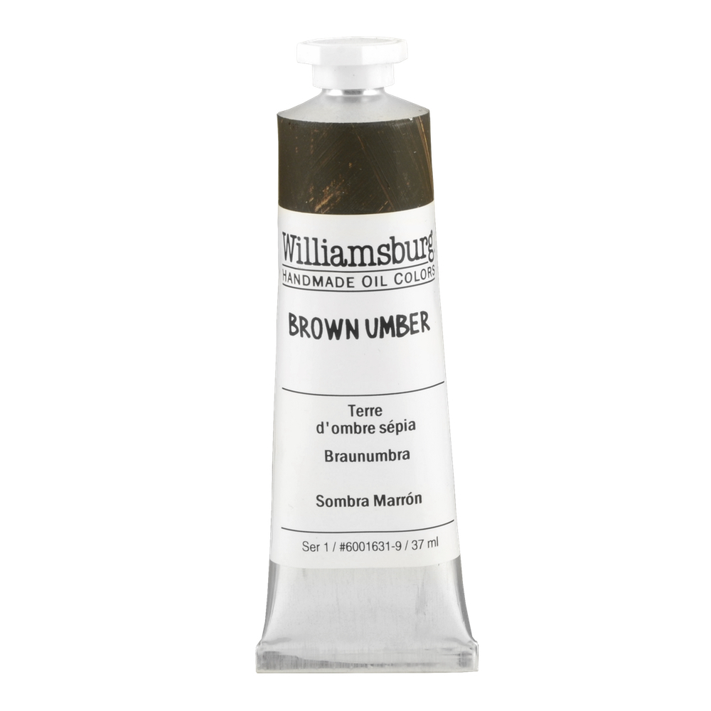 Williamsburg Oil 37Ml Brown Umber