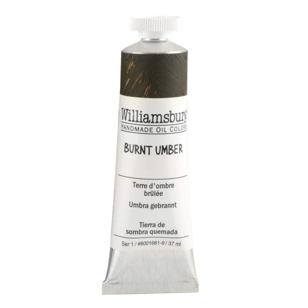 Williamsburg Oil 37Ml Burnt Umber