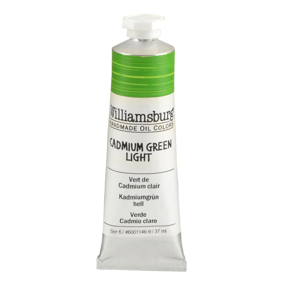 Williamsburg Oil 37Ml Cadmium Green Light