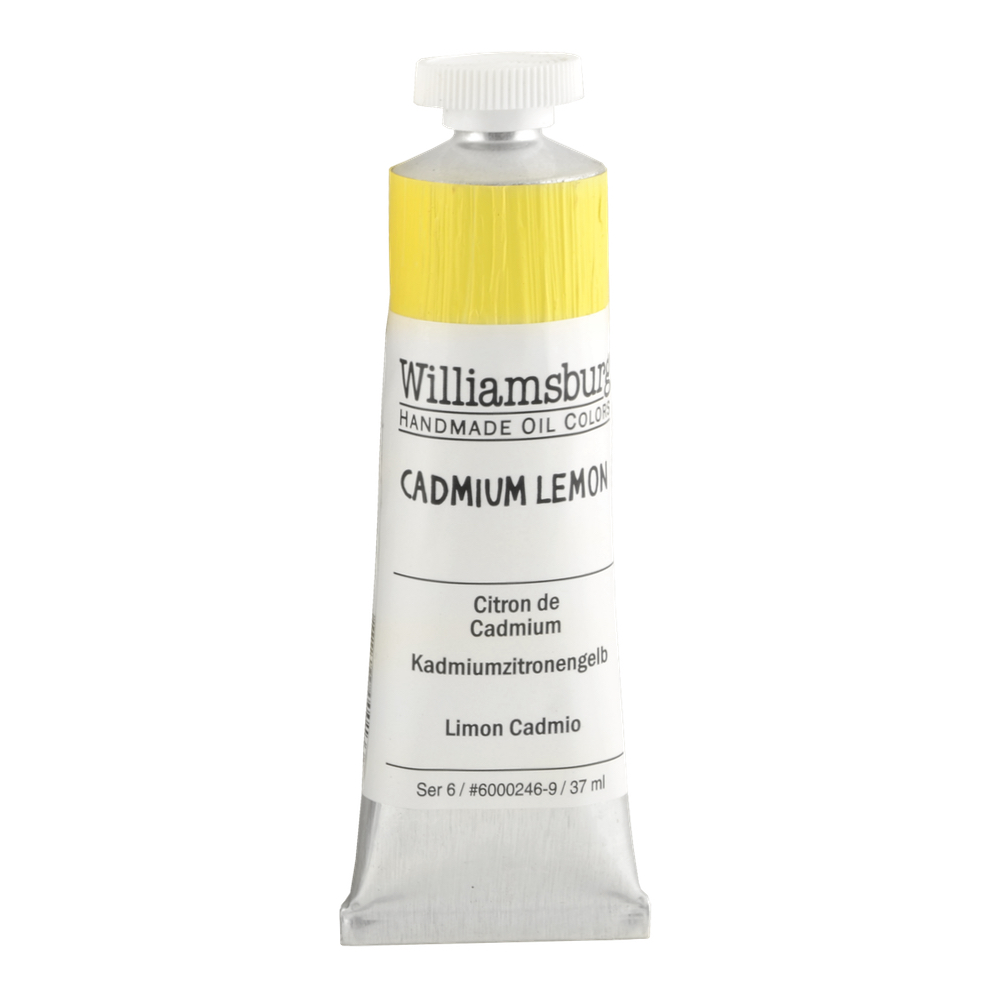 Williamsburg Oil 37Ml Cadmium Lemon