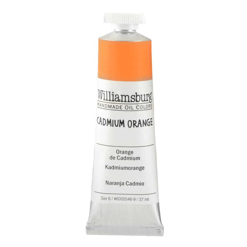 Williamsburg Oil 37Ml Cadmium Orange