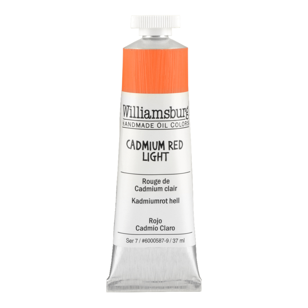 Williamsburg Oil 37Ml Cadmium Red Light