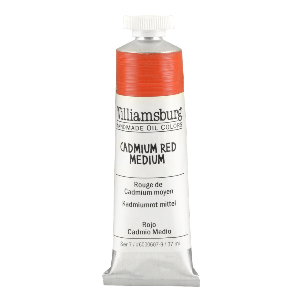 Williamsburg Oil 37Ml Cadmium Red Medium