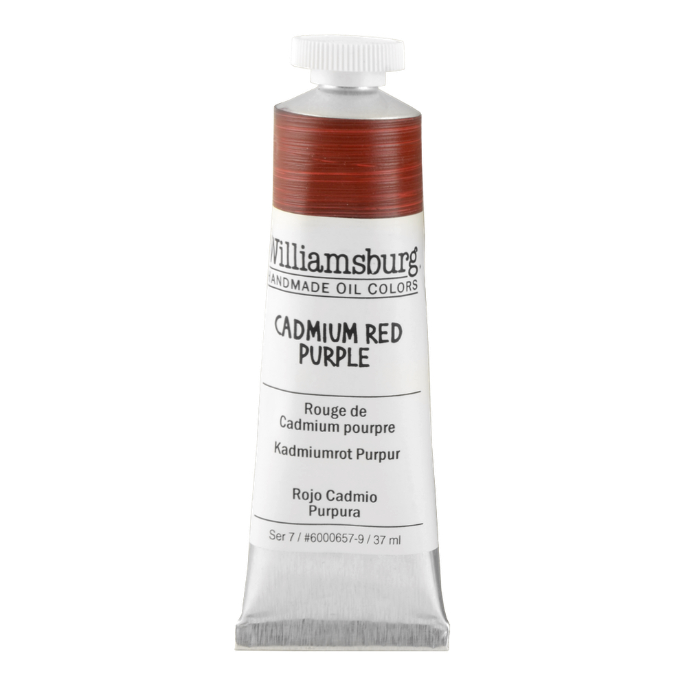 Williamsburg Oil 37Ml Cadmium Red Purple