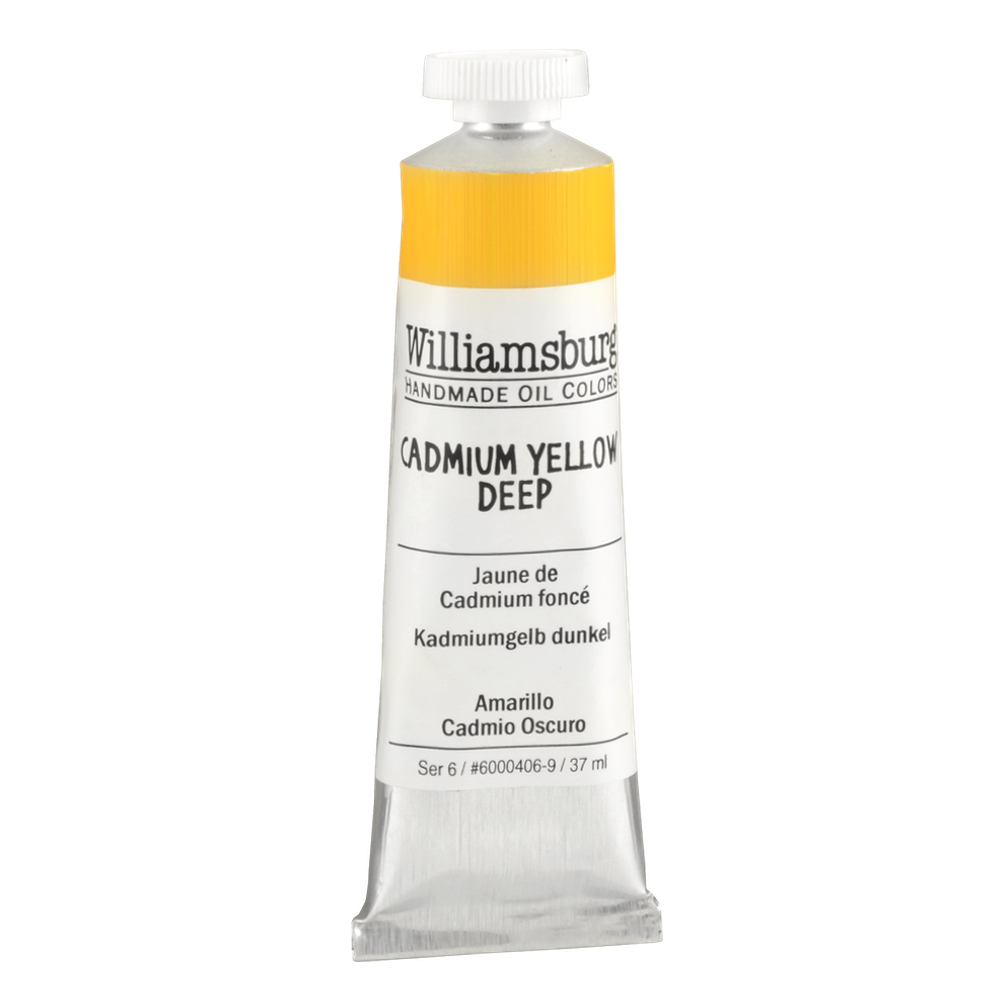 Williamsburg Oil 37Ml Cadmium Yellow Deep