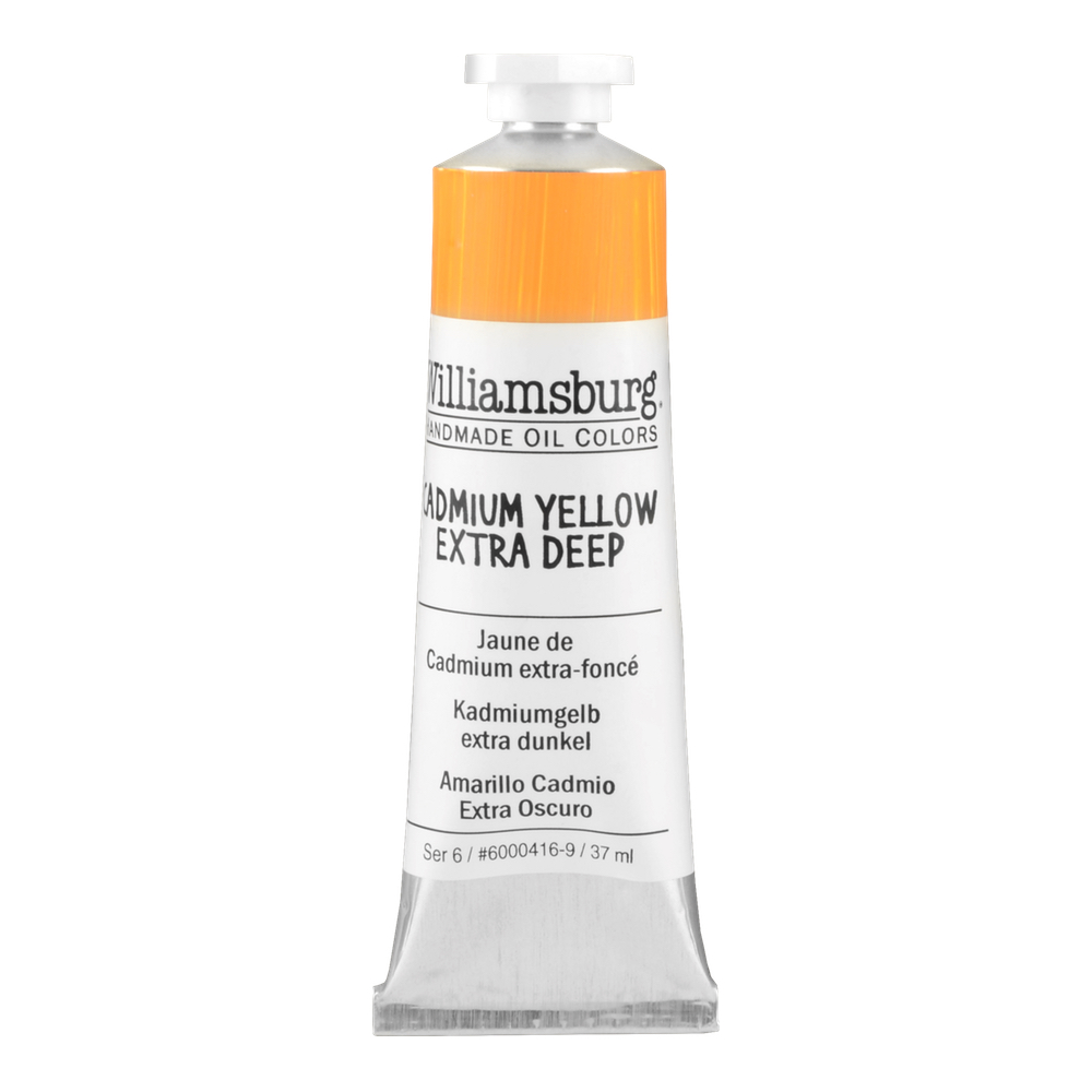 Williamsburg Oil 37Ml Cadmium Yellow Ex Dp