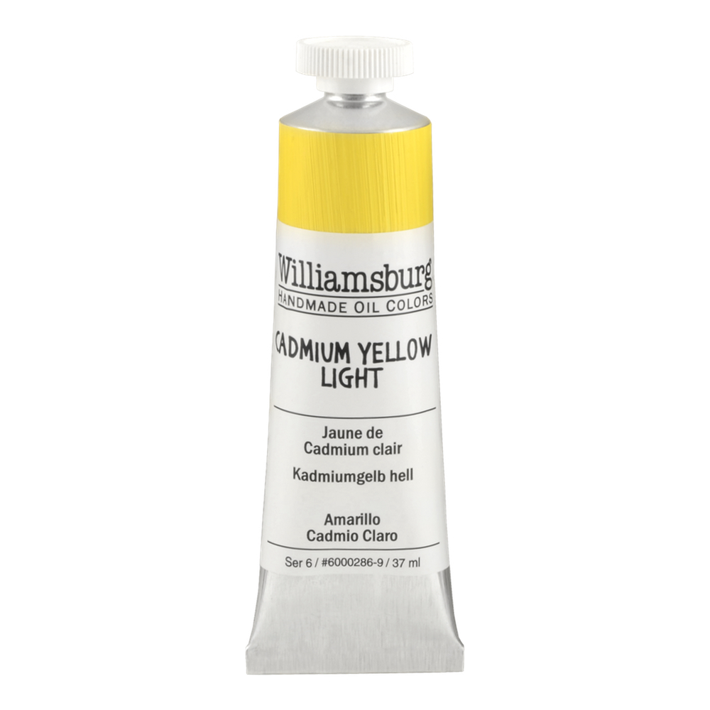 Williamsburg Oil 37Ml Cadmium Yellow Light