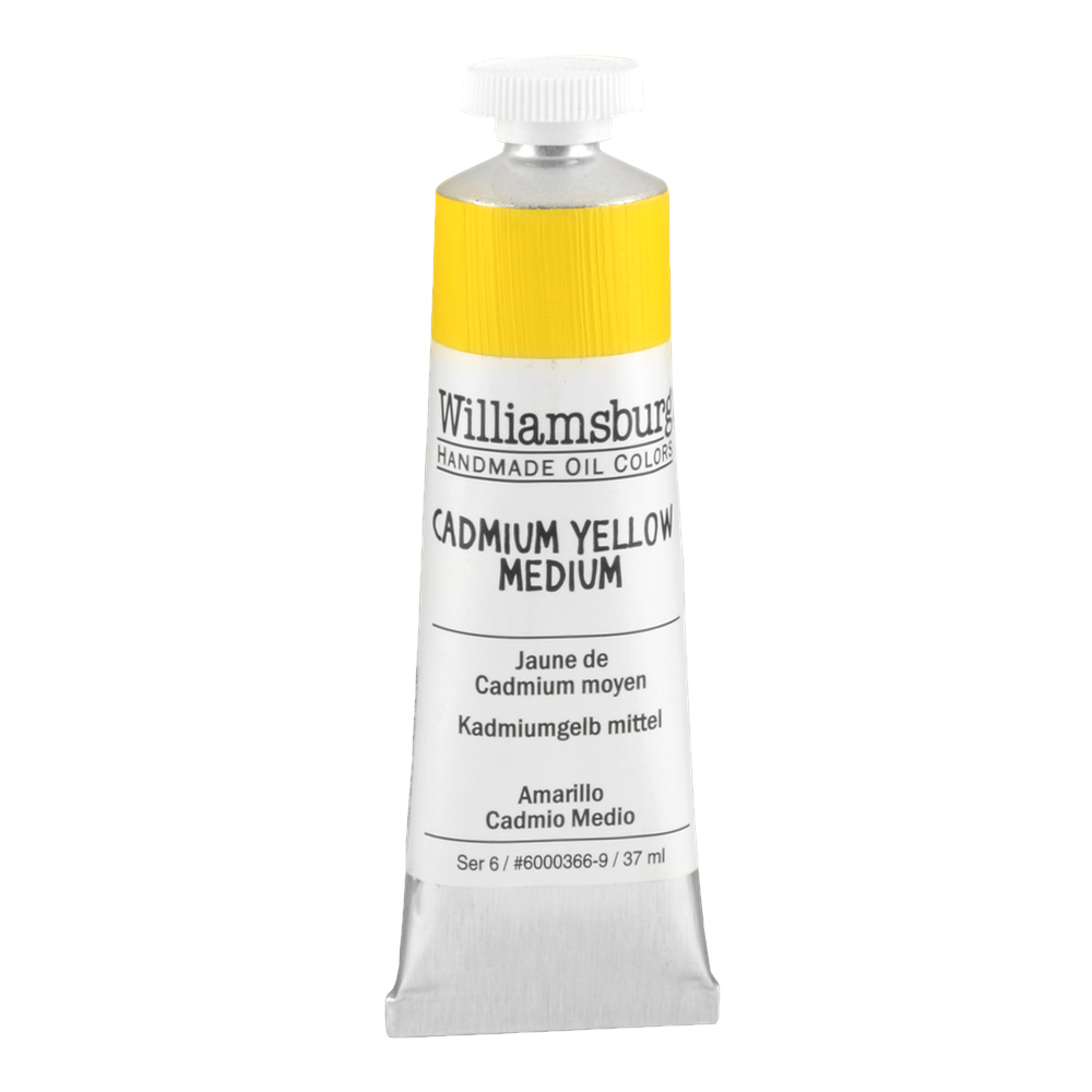Williamsburg Oil 37Ml Cadmium Yellow Med