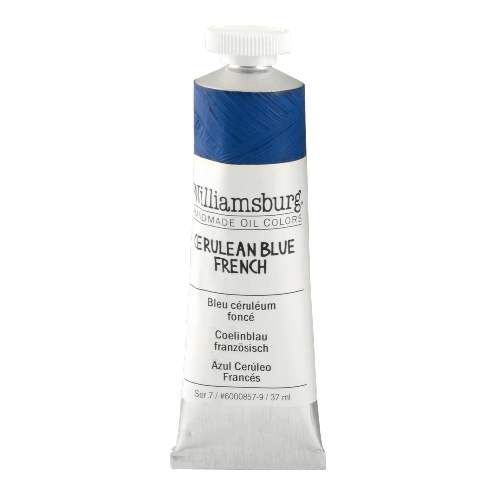 Williamsburg Oil 37Ml Cerulean Blue French