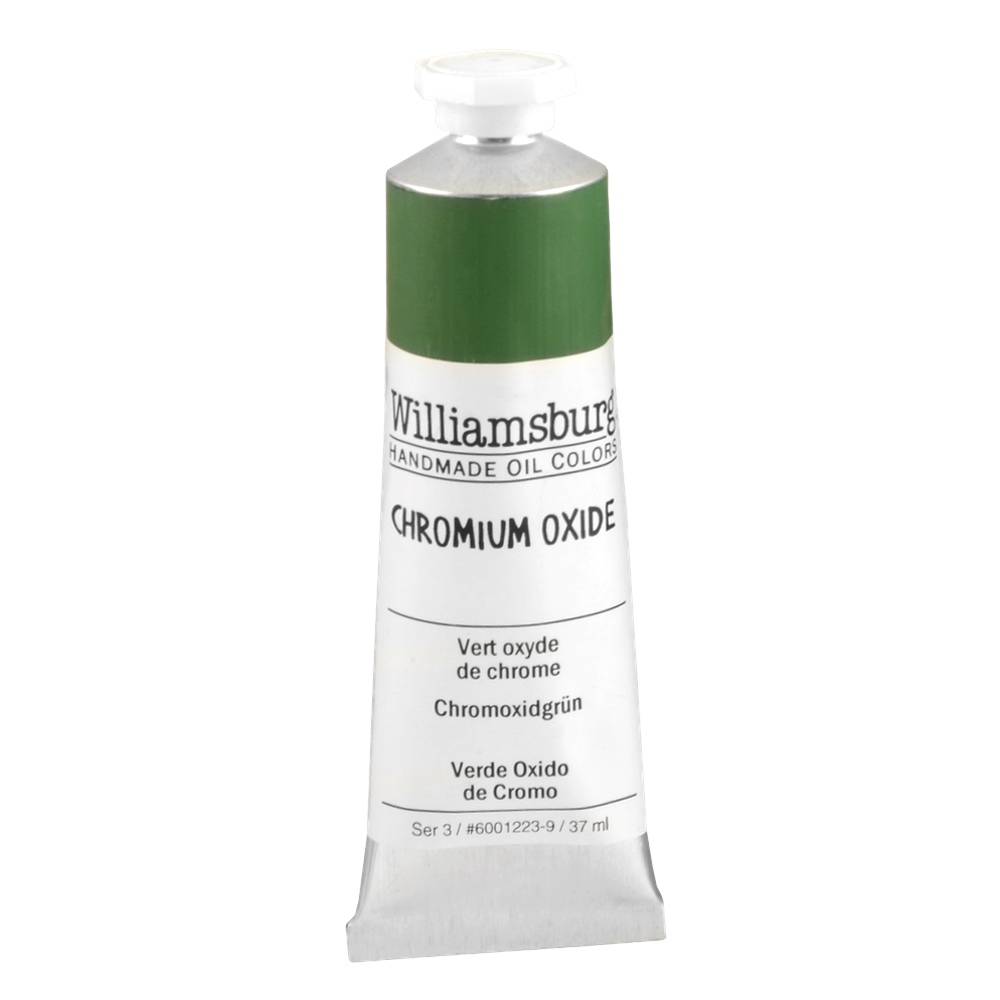 Williamsburg Oil 37Ml Chromium Oxide Green