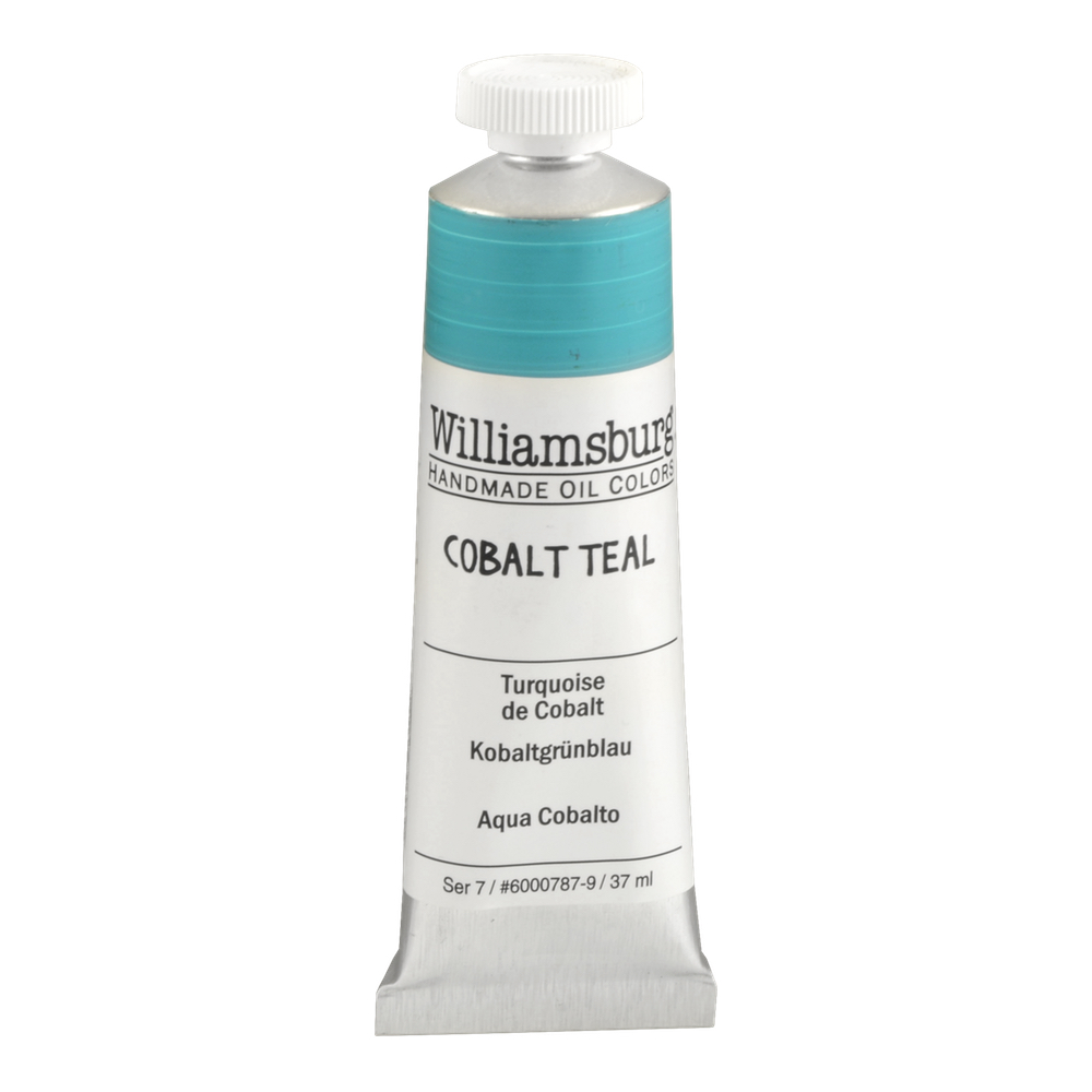 Williamsburg Oil 37Ml Cobalt Teal