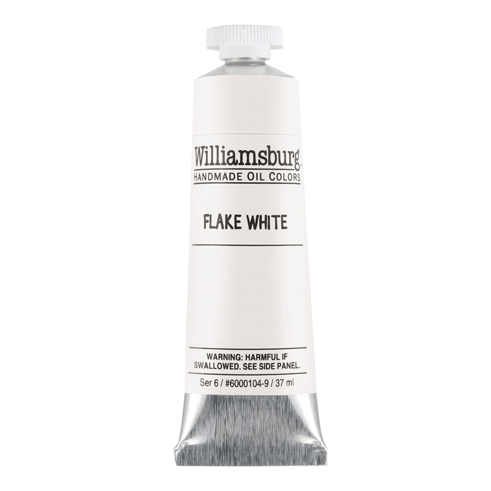 Williamsburg Oil 37Ml Flake White