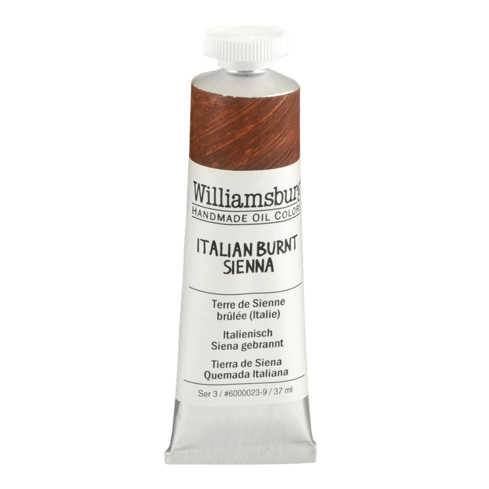 Williamsburg Oil 37Ml Italian Burnt Sienna