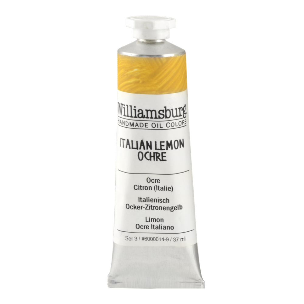 Williamsburg Oil 37Ml Italian Lemon Ochre