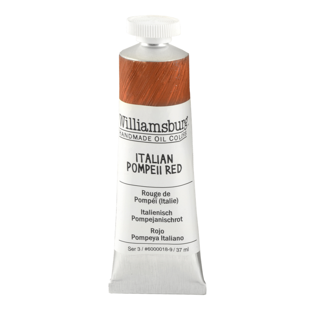 Williamsburg Oil 37Ml Italian Pompeii Red