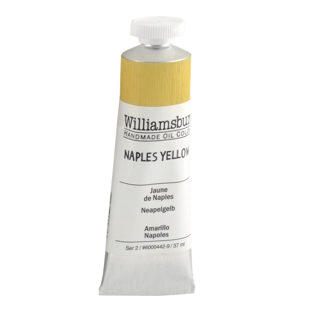 Williamsburg Oil 37Ml Naples Yellow