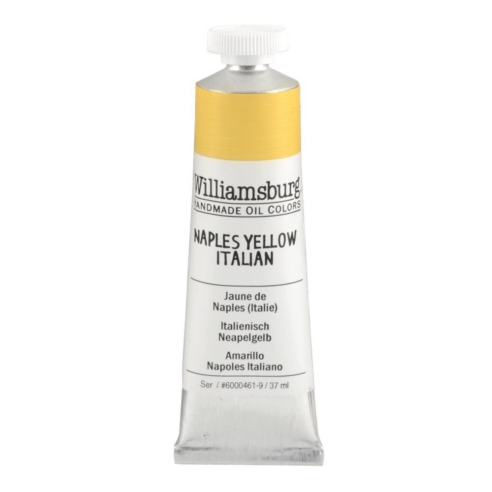 Williamsburg Oil 37Ml Naples Yellow Ital