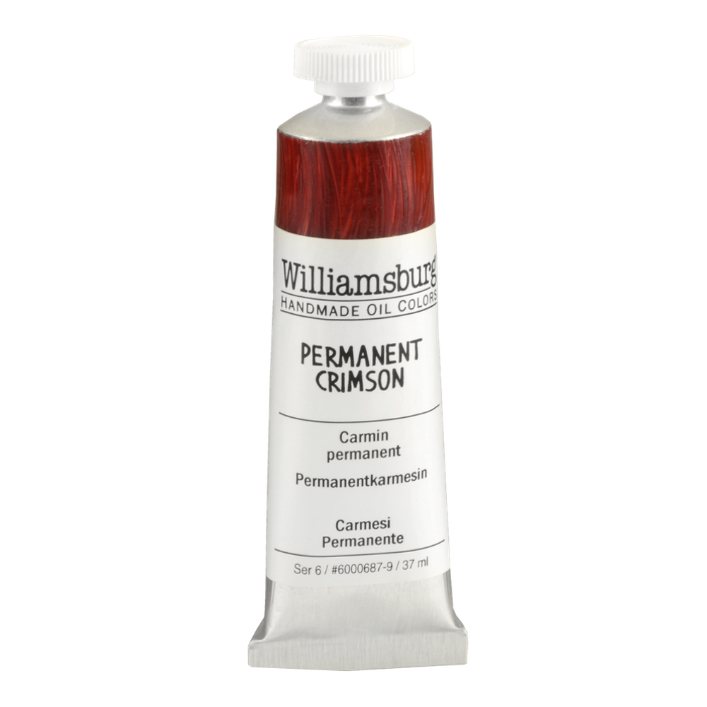 Williamsburg Oil 37Ml Permanent Crimson