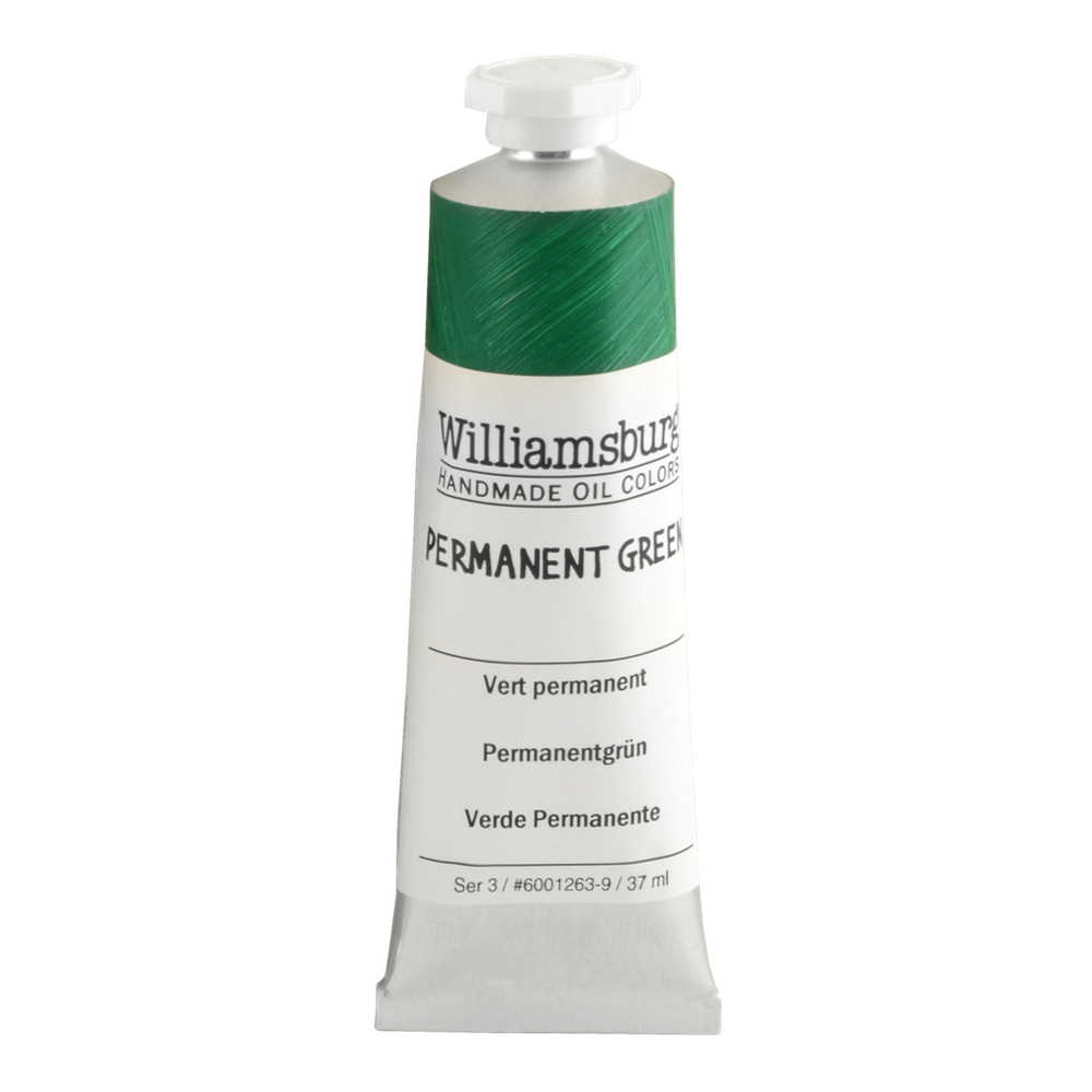 Williamsburg Oil 37Ml Permanent Green
