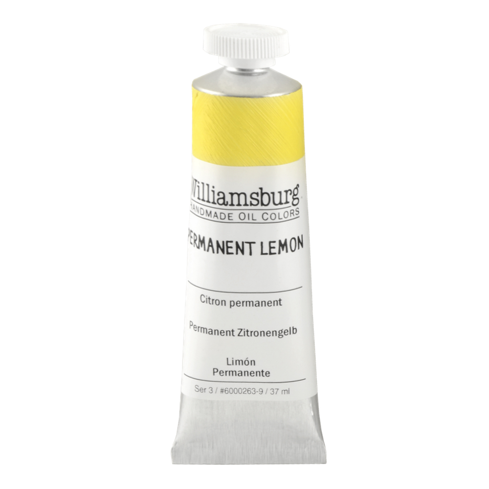 Williamsburg Oil 37Ml Permanent Lemon