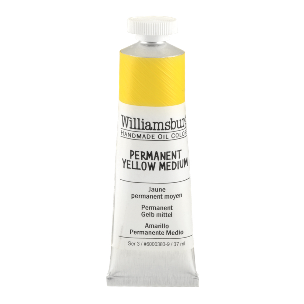 Williamsburg Oil 37Ml Permanent Yellow Med