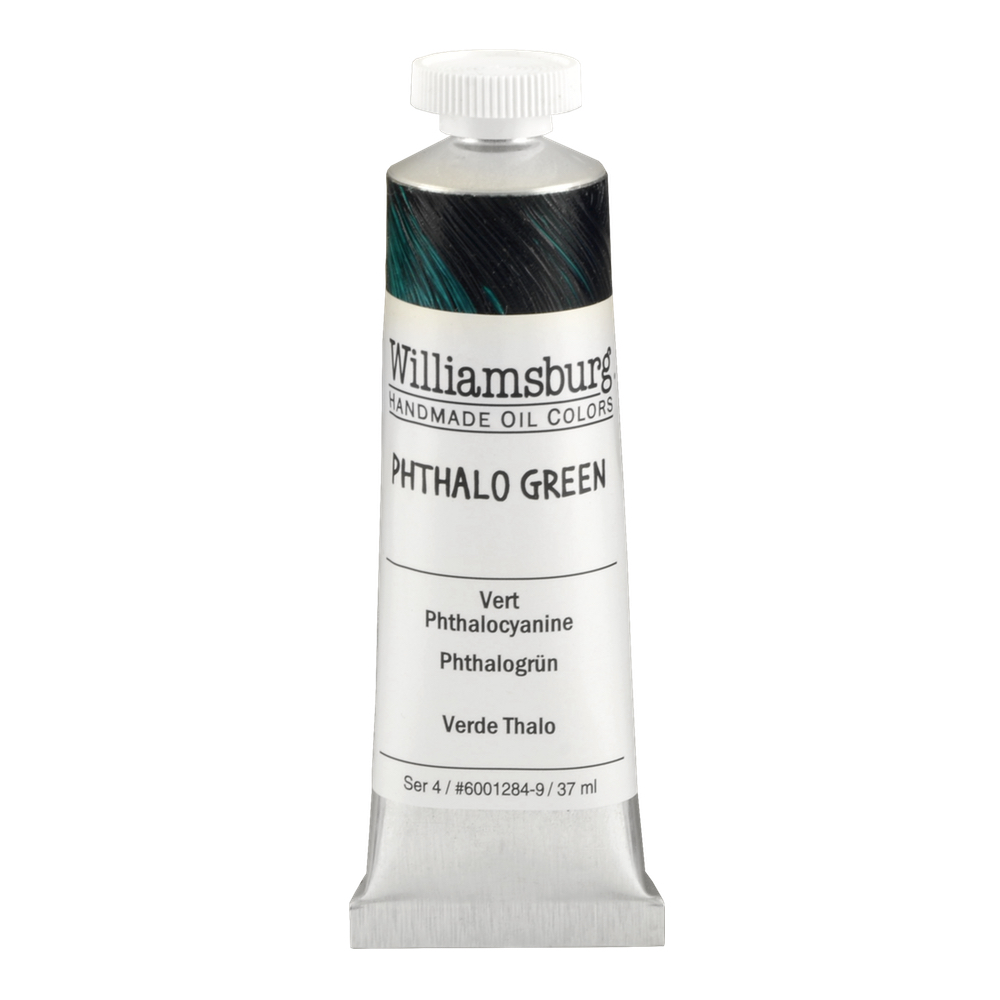 Williamsburg Oil 37Ml Phthalo Green